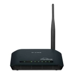 D-Link DIR-600L Wireless N 150 Home Cloud, 2.4GHz (802.11b/g), 1