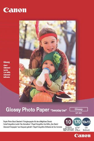 Canon GP-501 A4 glossy photo paper - 100sheets , 170g/m