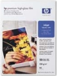 HP C3837A Premium High-gloss White Film - A4x50