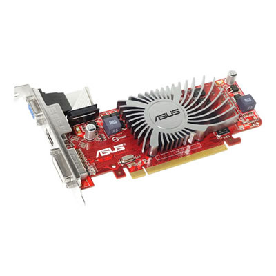 Asus AMD Radeon HD 5450 1GB Silent Graphics Card - PCI-E 2.0