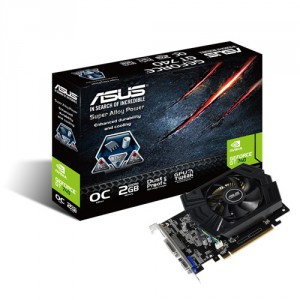 Asus NVIDIA GeForce GT 740 2GB (GDDR5) OC Graphics Card - PCI-E 3.0