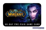 Blizzard World Of Warcraft Game Card EU 60 Day