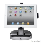 Logitech Speaker Stand, for iPAD, Angle Adjustable Stand + Charg