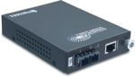 TrendNet TFC-1000S50 1000Base-T to 1000Base-LX Single-Mode Fiber