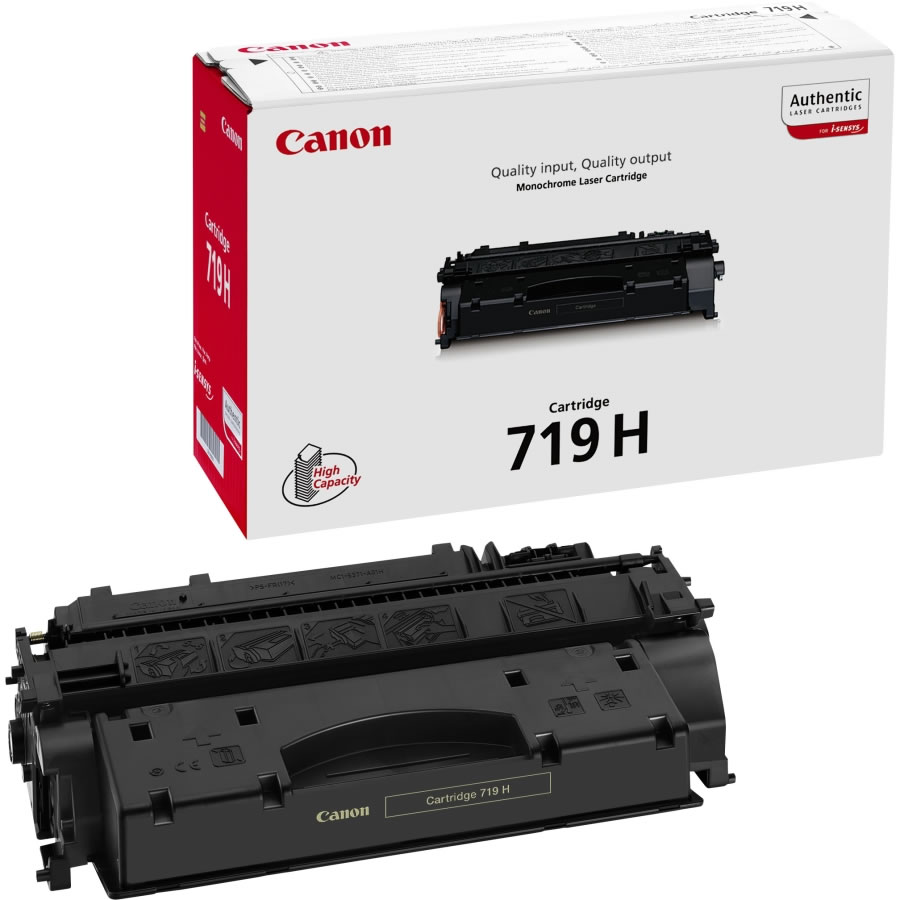 canon 719H Black toner , 6400pages - for canon laser LBP-6300dn, 6650DN