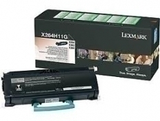 Lexmark X264H11G Black Toner Laser Cartridge