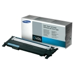 Samsung clt-C406s Cyan toner , standard yield , 1000pages - for