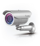 Compro CS400P outdoor network camera with PoE + iP66 rated weath