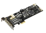 Asus Xonar DX , ultra fidelity 7.1 pci-express sound card