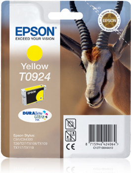 EPSON T0924 YELLOW INK CARTRIDGE