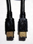 ieee1394a firewire cable 6pin to 6pin cable - 2m