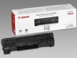 Canon 712 Black Toner Cartridge Yield  1500 Pages