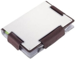 "CHoiiX C-MB03-C1 14"" brown notebook ergonomic metal sleeve/"