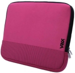 "VAX-18002 Fontana 14"" notebook sleeve. Magenta with black r"