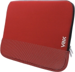 "VAX vax-s16fards Fontana 16"" nb sleeve - Red + Silver rubbe"