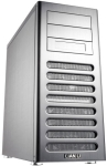 Lian-Li pc-8Fi Silver midi tower