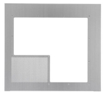 Lian-li W-65P Silver windowed side panel with VGA vent