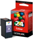 Lexmark #24 - 18c1524 colour ink