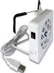 Icydock MB884U-C White optional clip-on fan for external enclosu