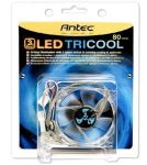 Antec 80mm TriCool Trilight ( red+green+blue) case fan