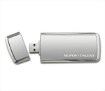 Supertalent ST3U28SCS, Usb3.0 Supercrypt, 128Gb flash drive