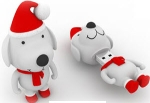 Supertalent rb-dog, Rubber + Xmas series - Dog - 4Gb