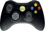 Microsoft Xbox360 Wireless Controller Black - for XBOX360 or PC