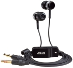 Asus HS-101, Black, In-The-Ear Design Earphones with Bass Enhanc