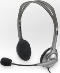 Logitech 981-000271 H110 stereo headset with mic