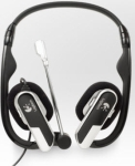 Logitech 981-000262 H555 laptop headset with mic
