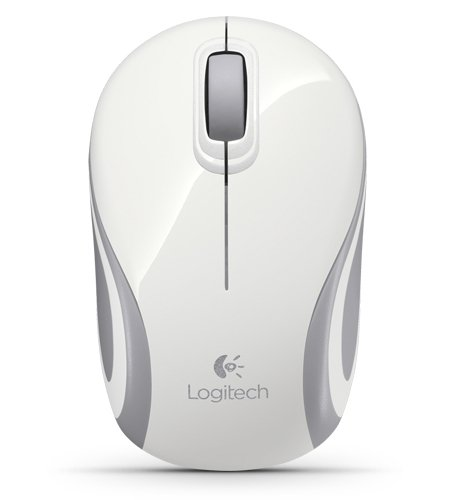 LOGITECH MOUSE M187  WHITE