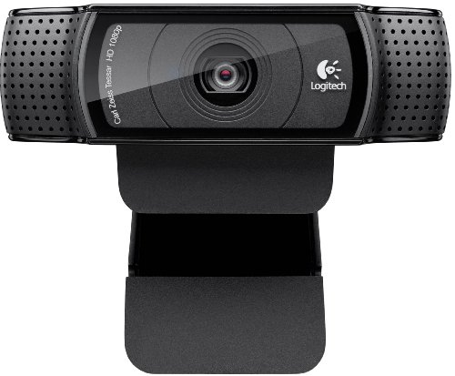 Logitech Webcam - C920 HD Pro Webcam, Up to 15 MP photo capture