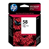 HP 58 Photo Original Ink Cartridge (C6658AN) DISCONTINUED BY MANUFACTURER