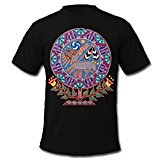 Huichol Peyote Deer Men's T-Shirt by American Apparel by Spreadshirt, M, black