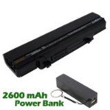 "Battpitâ""¢ Laptop / Notebook Battery Replacement for Dell PP13S (4400mAh / 49Wh) with 2600mAh Power Bank / External Battery for Smartphone."