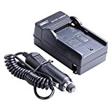 Neewer AC Wall Charger with In-Car Adapter for Sony NP-F550/F750/F960/F330/F570 PA-VBD1 PA-VBD2 Batteries