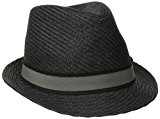 Goorin Bros. Men's Killian Fedora, Black, Large/X-Large