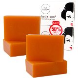 4 bars Kojie San Kojic Acid Soap Soap 65 grams per bar