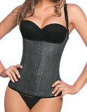 2028 Ann Chery Semi-vest Latex Waist Trainer Cincher Corset Girdle (32)