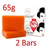 Kojie San Skin Lightening Kojic Acid Soap 2 Bars - 65g