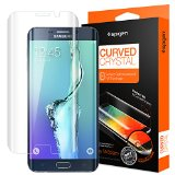 Galaxy S6 Edge Plus Screen Protector, Spigen® [Steinheil] Full HD [Curved Crystal] High Definition (HD) Premium Ultra Clear Screen Protector for Galaxy S6 Edge+ (2015) - Curved Crystal (SGP11694)