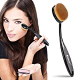 KINGMAS® Pro Cosmetic Makeup Face Powder Blusher Toothbrush Curve Foundation Brush with Cover
