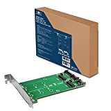 Vantec Multi-Size Dual M.2 to Two SATA III Port Converter Kit UGT-M2ST220