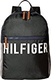 Tommy Hilfiger Women's Hilfiger Color Block - Backpack Black/Gray Backpack