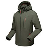 Mountain Conqueror Mens Lightweight Jacket Coat Waterproof Fishing Hiking Jackets 95%Nylon(Polyester) Men Outdoor Clothing