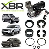 LAND ROVER RANGE ROVER SPORT AIR COMPRESSOR REPLACEMENT PISTON SEALS REPAIR KIT X8R27