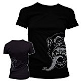 Officially Licensed Merchandise Gas Monkey Sidekick Girly Tee (Black), Medium