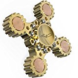Lahtak Premium Hand Spinner Metal EDC Toy| Detachable Unique Original Brass Cool Fidget Spinner Transformer