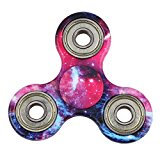 MILKY WAY New Style Tri-Spinner Fidget Toy with Premium Hybrid Ceramic Bearing, Galaxy