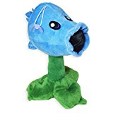 GENE Ice Pea Shooter Plants Vs Zombies Snow Peashooter Plush Toy